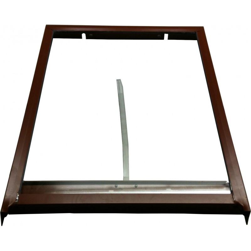 Lucernario - Vetro temperato e telaio di ricambio per lucernario - cm 45x60