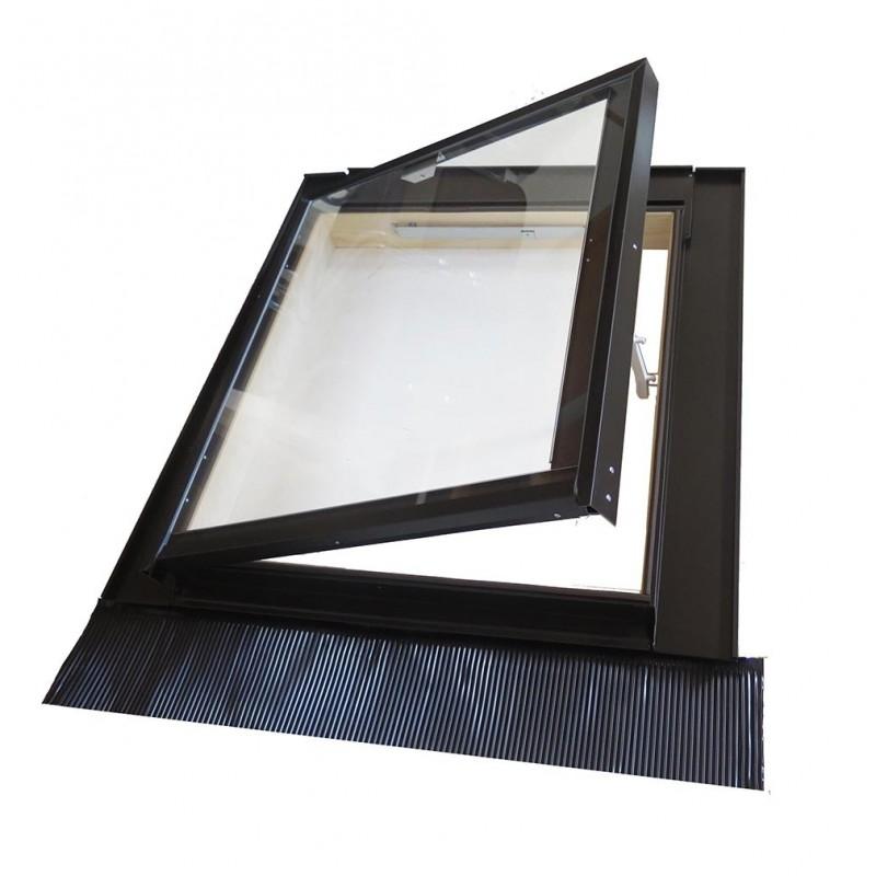 Lucernario Medio Isolamento - Uscita Tetto - Luce 74x80 cm